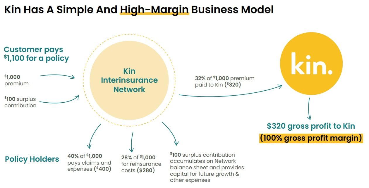 Kin Insurance Model